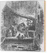 Arkansas: Hot Springs, 1878 Wood Print