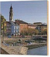 Ascona - Lake Maggiore Wood Print
