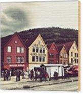 Bergen Wood Print