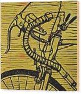 Bike 2 Wood Print by William Cauthern