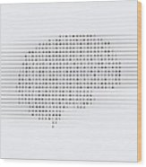 Brain, Conceptual Computer Artwork Wood Print