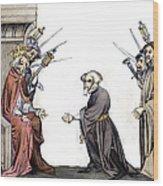 Charlemagne (742-814) Wood Print
