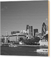 City Of London Skyline Wood Print
