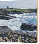 Classiebawn Castle, Mullaghmore, Co Wood Print
