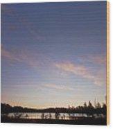 Fall At Saari-soljanen Wood Print