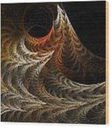 Ferns Wood Print