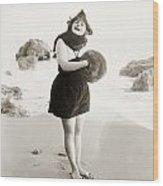Film Still: Beach Wood Print