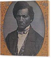Frederick Douglass, African-american Wood Print