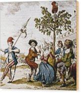 French Revolution, 1792 Wood Print