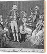 George IIi (1738-1820) Wood Print by Granger