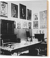 Gertrude Stein (1874-1946) Wood Print