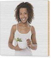Healthy Diet Wood Print