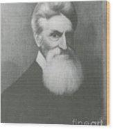 John Brown, American Abolitionist Wood Print