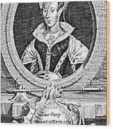 Lady Jane Grey (1537-1554) Wood Print