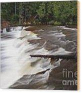 Lower Tahquamenon Falls Area Wood Print