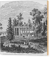 Mount Vernon Wood Print
