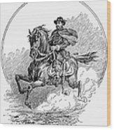 Philip Henry Sheridan Wood Print