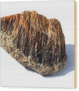 Rock From Meteorite Impact Crater Wood Print