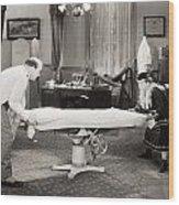 Silent Film Still: Doctor Wood Print