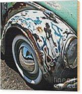 61 Volkswagon Bug Wood Print
