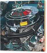 65 Plymouth Satellite Engine-8482 Wood Print