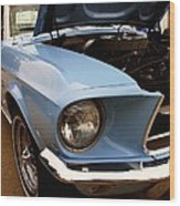 67 Mustang Hcs Wood Print