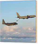 A Mc-130h Combat Talon II Wood Print