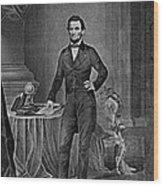 Abraham Lincoln, 16th American President Wood Print