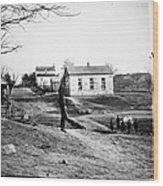 Civil War: Bull Run, 1861 Wood Print