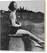 Clara Bow (1905-1965) Wood Print by Granger