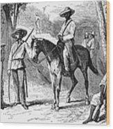 Cuba: Ten Years War Wood Print