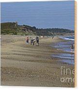 Dunwich Beach Suffolk. Wood Print