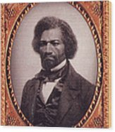 Frederick Douglass African-american Wood Print