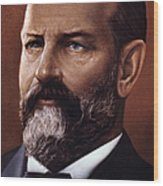 James A. Garfield (1831-1881) Wood Print