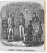 John Marshall (1755-1835) Wood Print