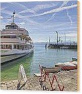 Lake Constance Meersburg Wood Print