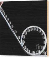 Loop The Loop Wood Print