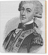 Marquis De Lafayette Wood Print