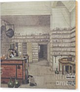 Michael Faraday, English Physicist Wood Print