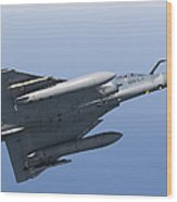 Mirage 2000c Of The French Air Force Wood Print