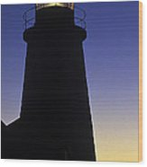 Pemaquid Point Lighthouse Wood Print