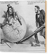 Presidential Campaign: 1864 Wood Print