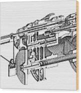 Screw-making Machine Wood Print