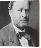 Ulysses S. Grant, 18th American Wood Print