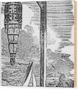 William Kidd (c1645-1701) Wood Print