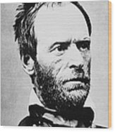 William Tecumseh Sherman Wood Print