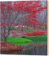 7344a Wood Print