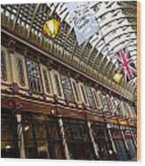 Leadenhall Market London Wood Print