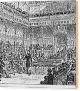 Benjamin Disraeli (1804-1881) Wood Print