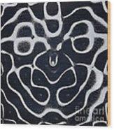 Chladni Oscillations On Metal Plate Wood Print